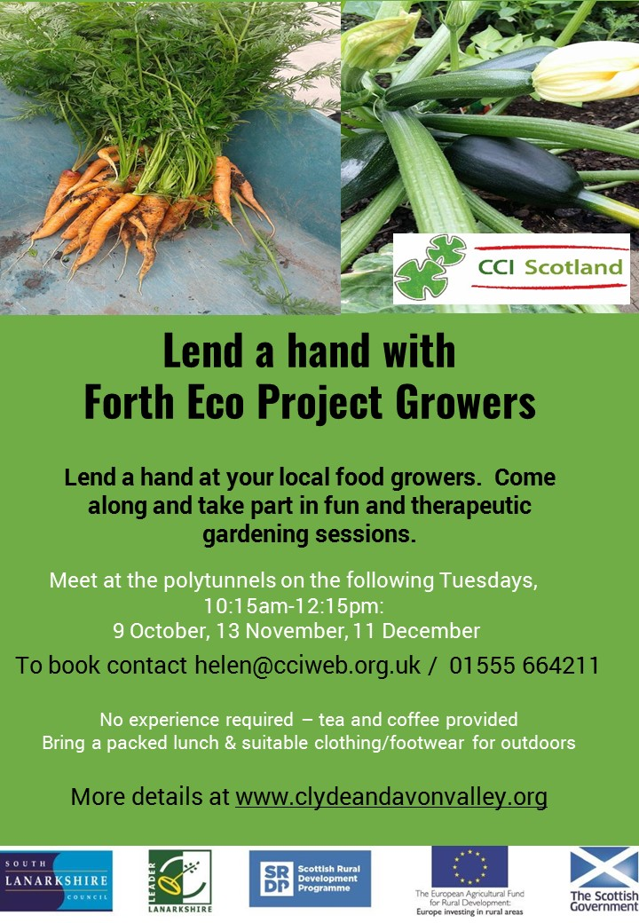 Lend a hand with Forth Eco Project Growers