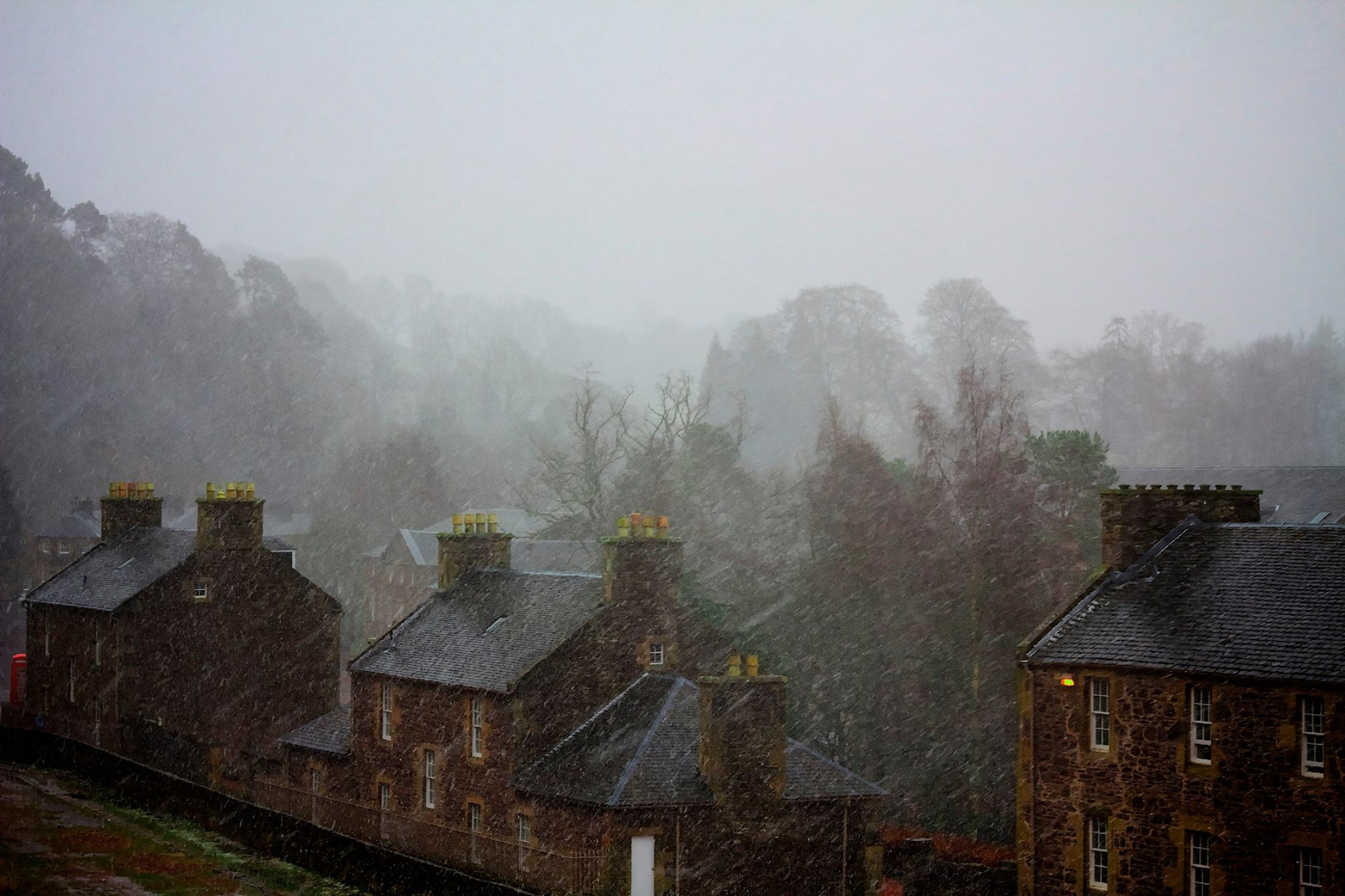 Mark Melville New Lanark in Winter