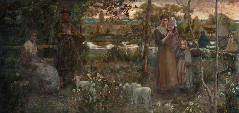 John Lochhead (1866-1921), Country Life, date unknown, South Lanarkshire Leisure and Culture Trust Museum Service.