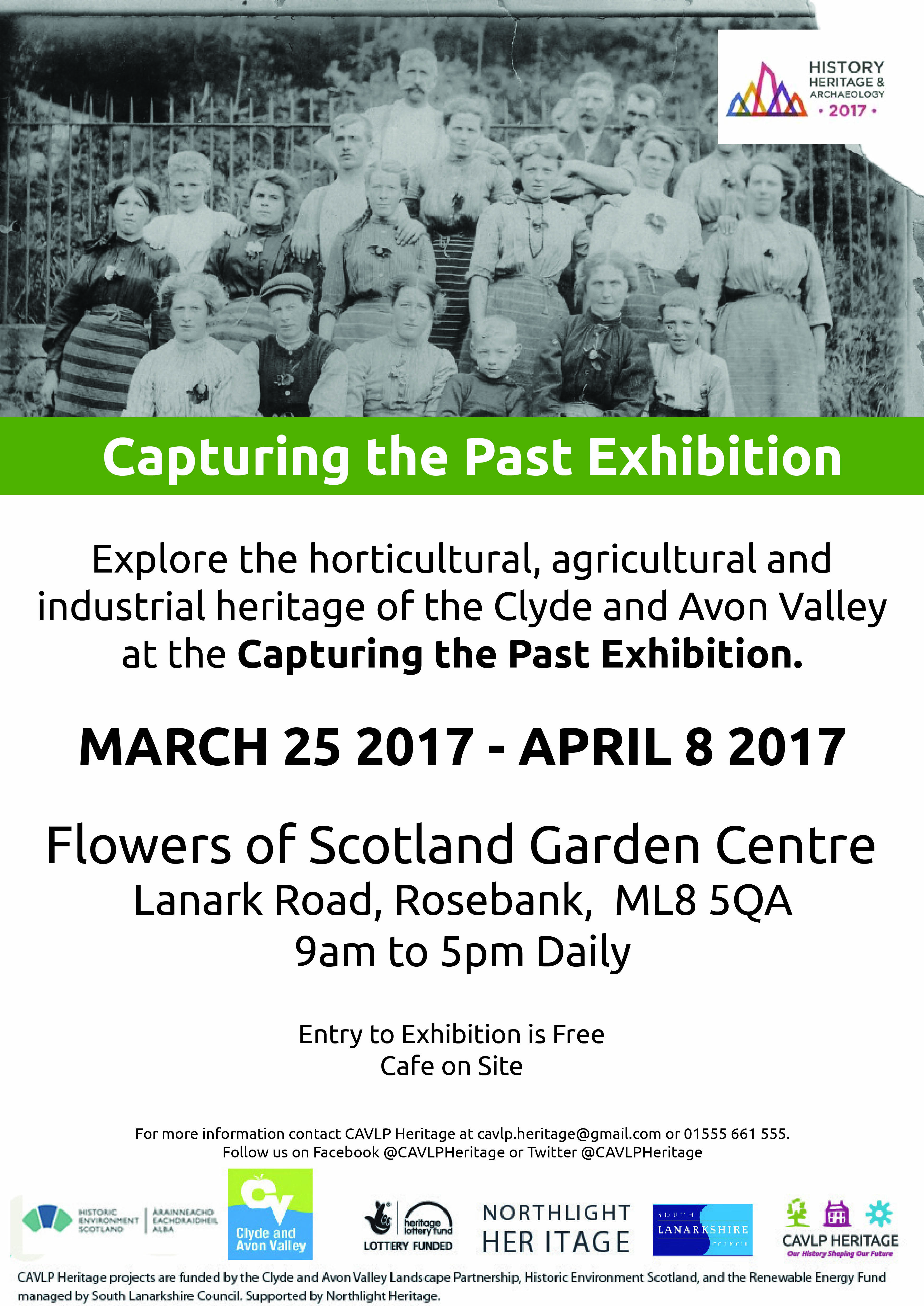 Capturing the Past Exhibition, Rosebank, Saturday 25 March - Saturday 8 April 2017