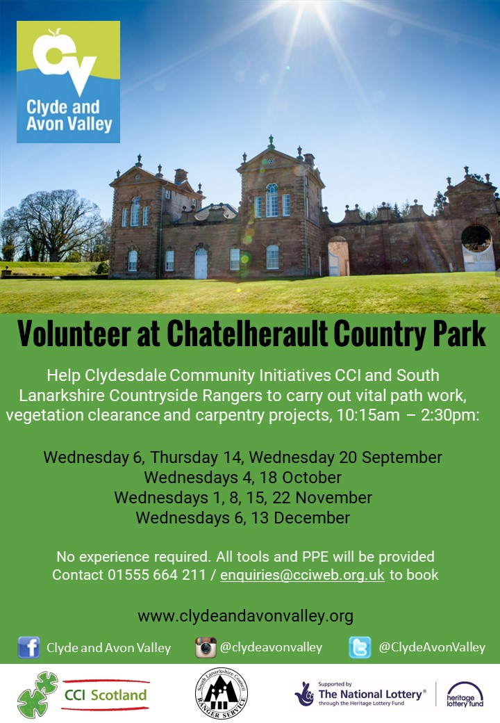 Volunteer at Chatelherault Country Park