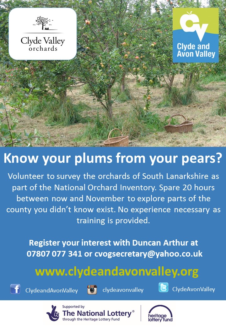 Orchard Mapping Project volunteer poster