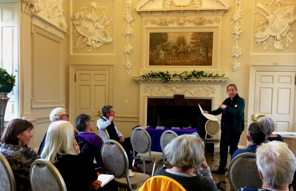 Beatrice Dowler, MVGLA, presents the Glorious Gardens 2 project at Chatelherault Country Park