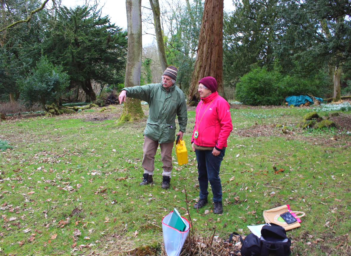 Volunteers have been learning new skills and brushing up on old ones through Glorious Gardens volunteering