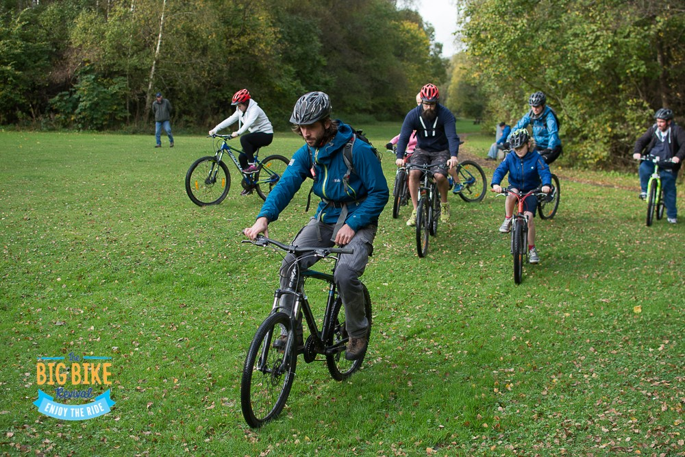 Fun for all the family on the Town to Country guided bike ride