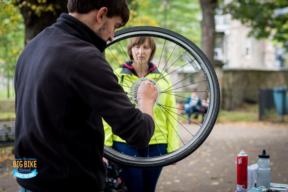 Bring your bike to Stonehouse, Larkhall and Carluke for free manitanance