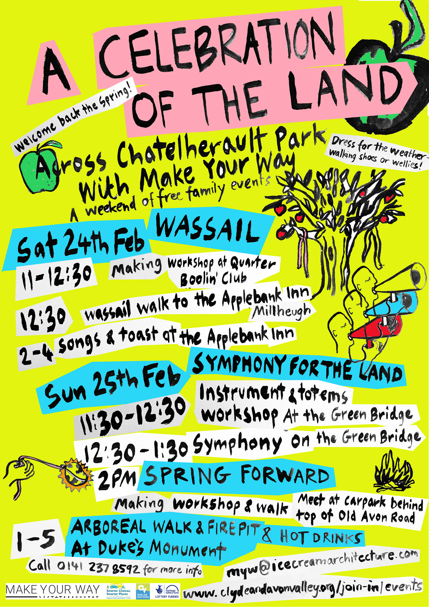 FREE 'A Celebration of the Land' family events Saturday 24 and Sunday 25 February