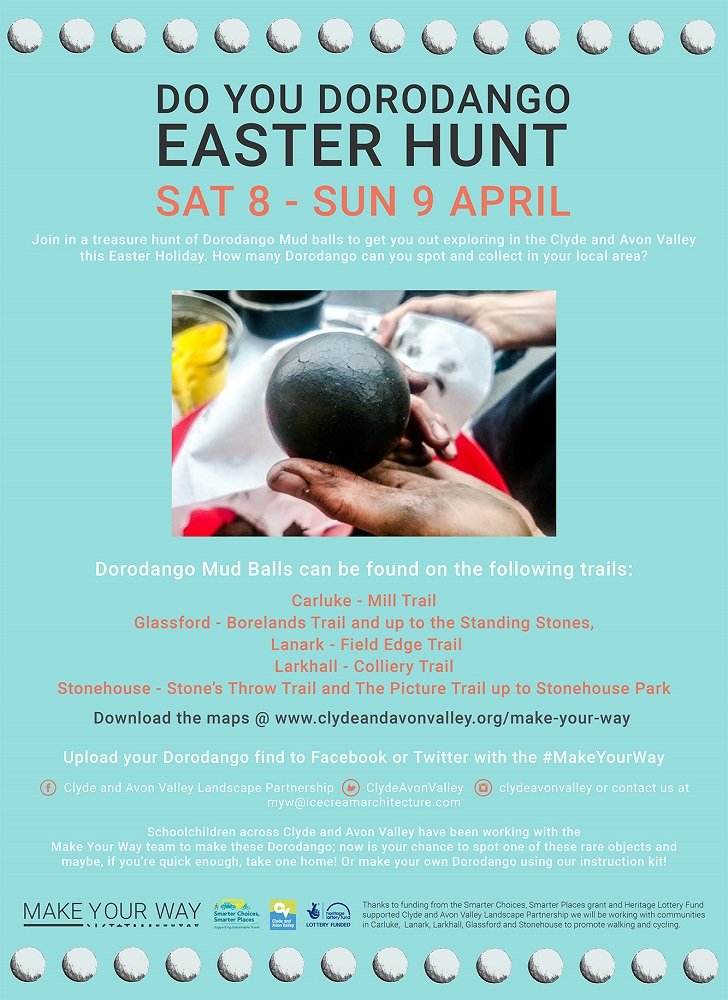 Do You Dorodango Easter Hunt, Carluke, Glassford, Lanark, Larkhall, Stonehouse