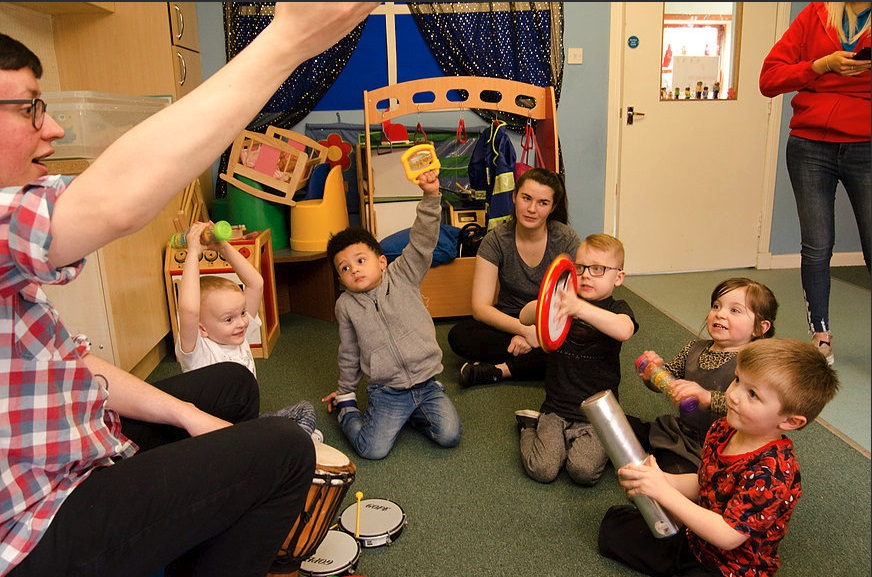 Children enjoy FREE creative 'Castaway' themed workshops with South Lanarkshire Leisure and Culture Trust