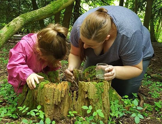 Inspired by Robert Owen's love for Lanark's natural assets, wild play is a key theme of the 'Robert Owen's Windows of Learning' project