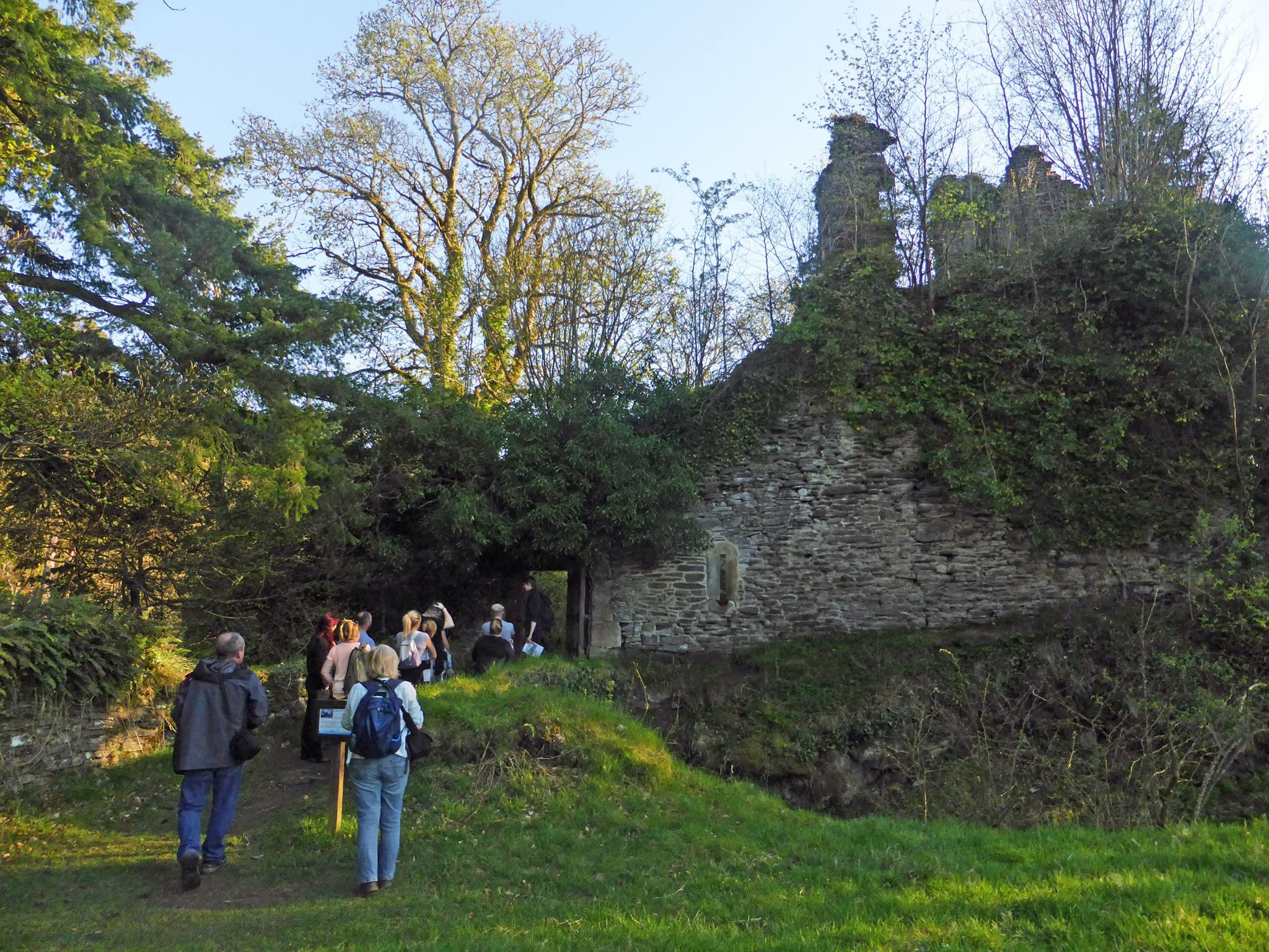 Enjoy exclusive access to 16th century Corra Castle with Scottish Wildlife Trust