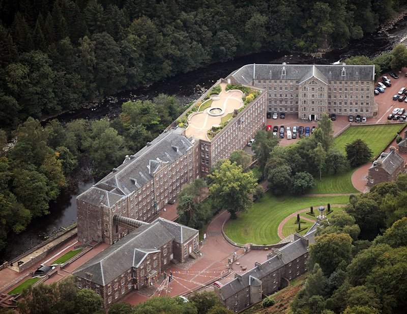 New Lanark from above