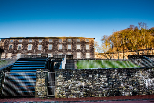 Stage 5 of the Clyde Walkway takes you 8 miles through orchard country and spectacular wooded gorges to New Lanark UNESCO World Heritage Village and natural wonder of the Falls of Clyde