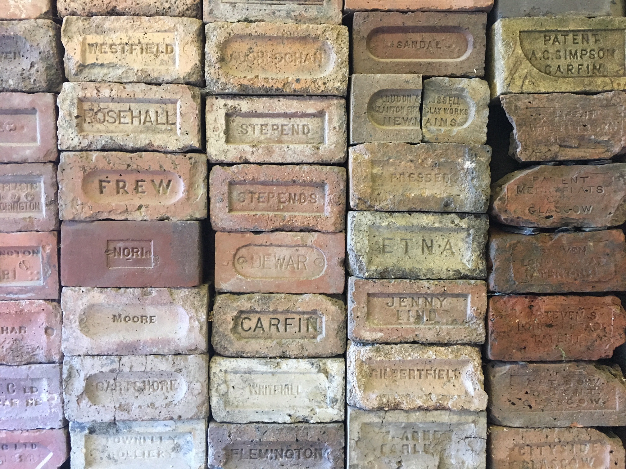 The Brick and Tile works of the Clyde and Avon Valley