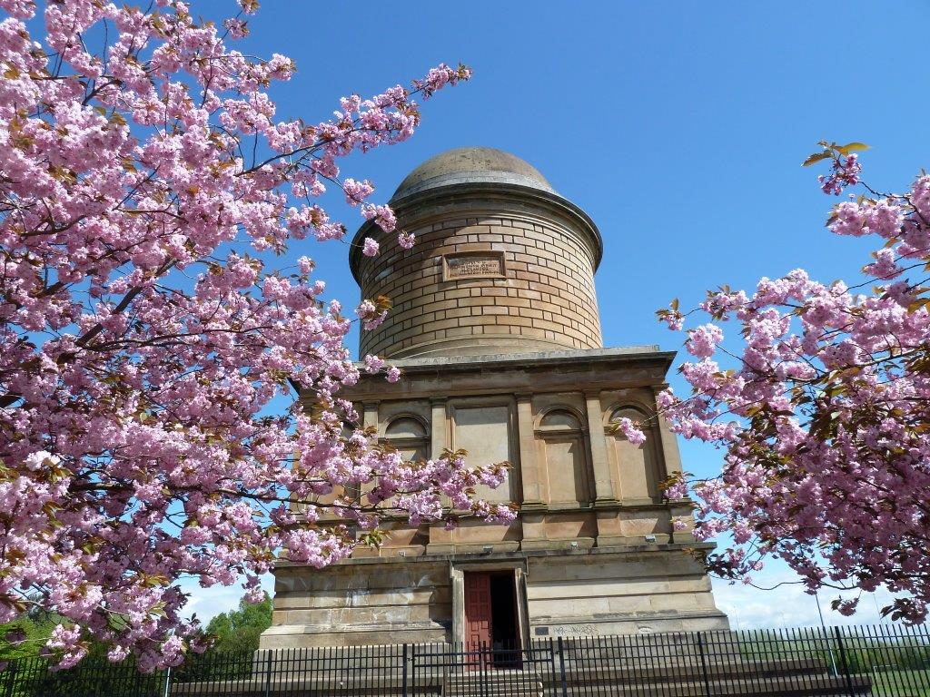 Front of Hamilton Mausoleum