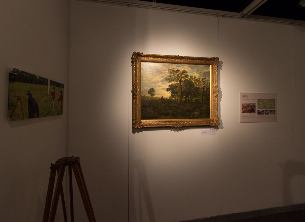 Part of the Land Section of the Exhibition