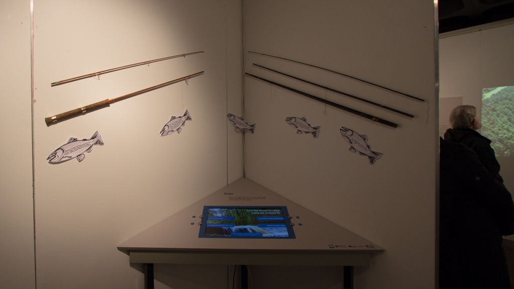 Fishing Rods & Water Interactive