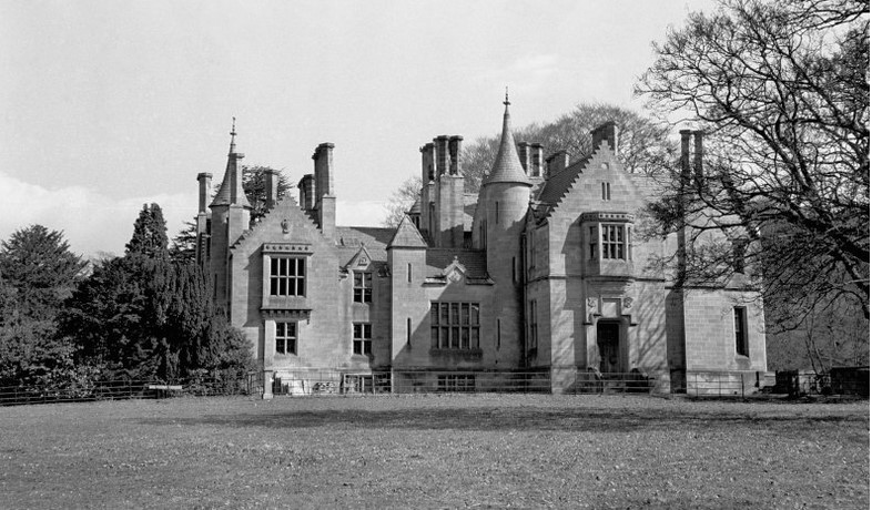 Milton Lockhart House in the mid-20th century, http://canmore.org.uk/collections/952723