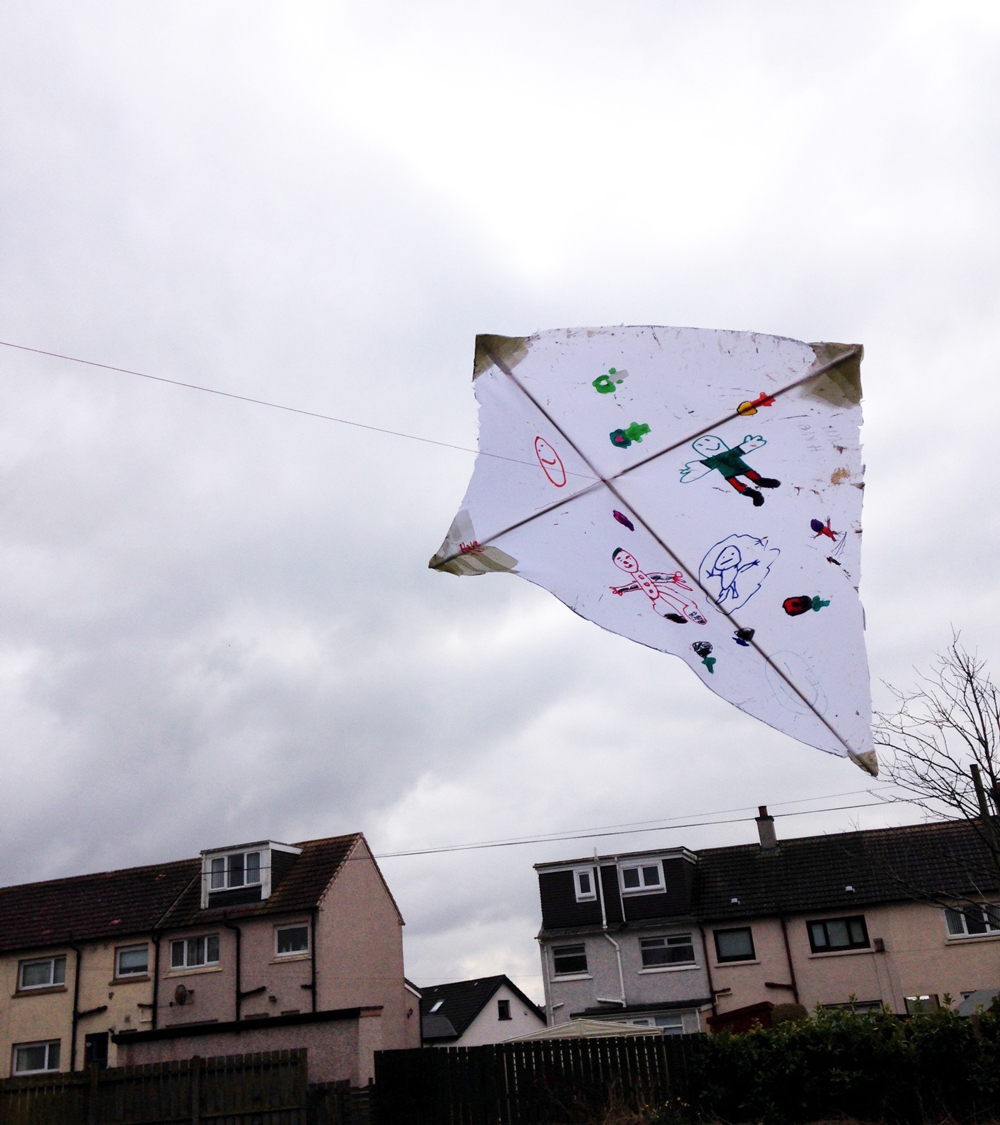 Step 3. Attach the Kite line