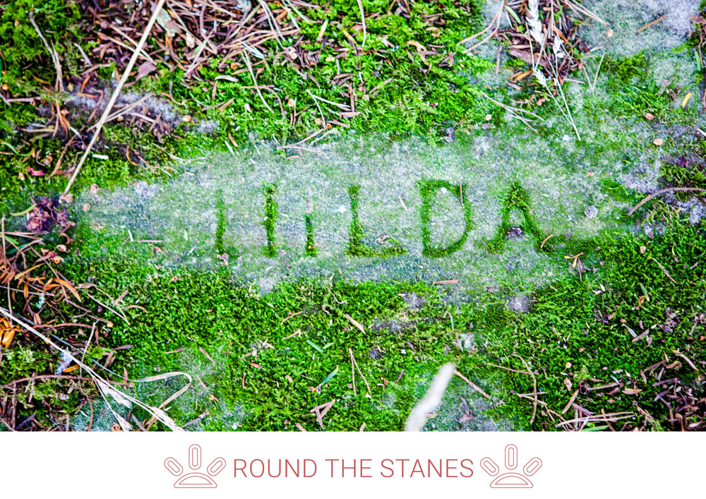 7. Explore this site where love meets landscape. The Three Stones sit next to the burial place of James and Julia Struthers.