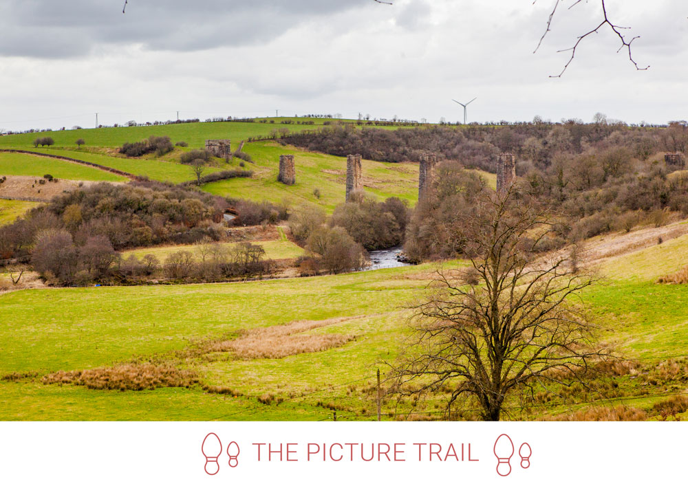 4. Take in the views across to the former Stonehouse Viaduct.