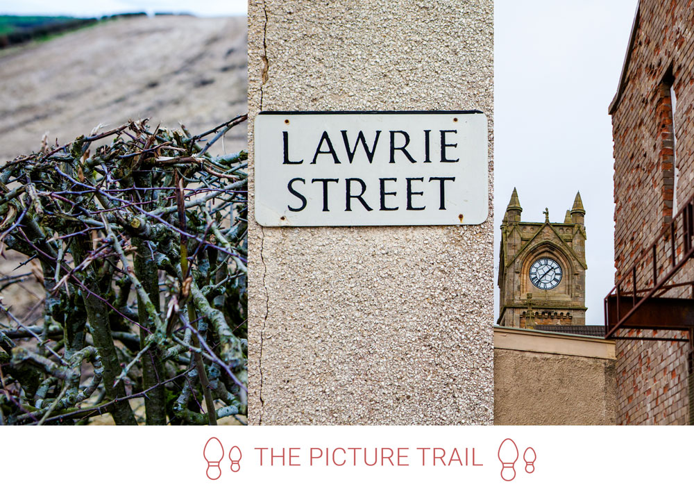 5. Exit the Park onto Lawrie Street. Walking under the A71, take the first left, linking to Green Street.