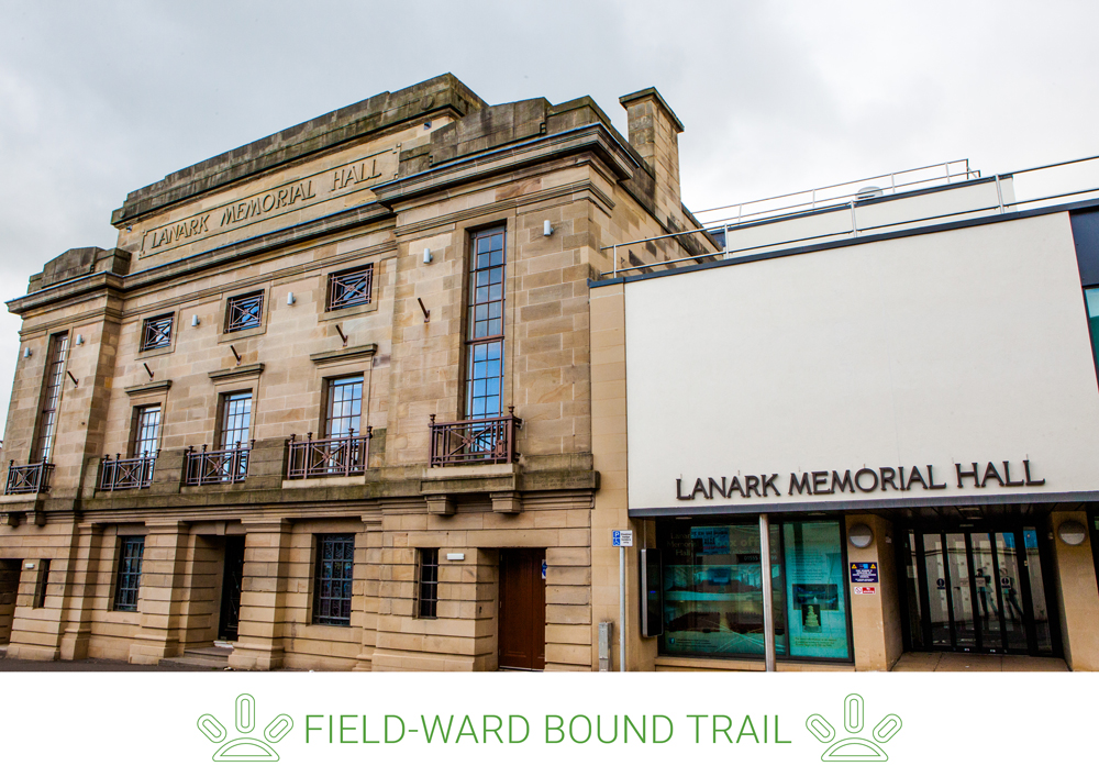 1. Start at the top of High Street and walk up St. Leonard Street going past Lanark Memorial Hall.