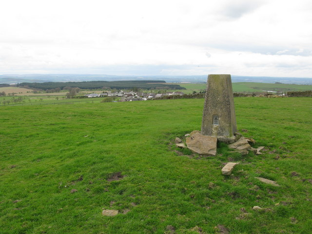 5, 6, 7. Trig Points - Mapping the Nation: Headshill, Marshill and Black Hill