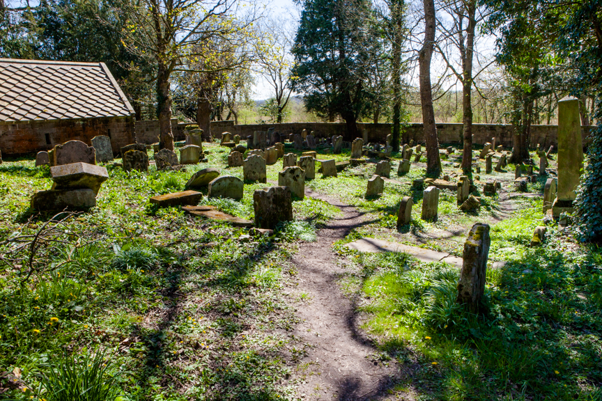Improvements at Dalzell Estate historic graveyard
