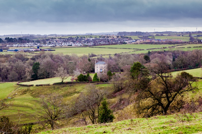Discover a spring landscape in Glassford