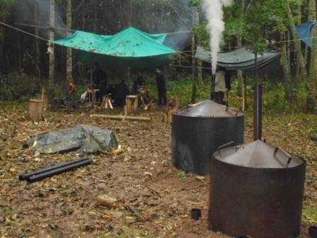 Keeping the Charcoal Kilns Burning