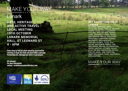 Make Your Way: Lanark Local Meeting