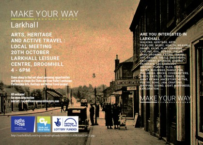 Make Your Way: Larkhall Local Meeting