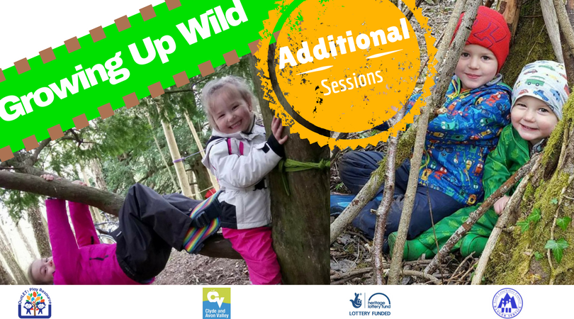 FREE Growing Up Wild family play sessions this summer
