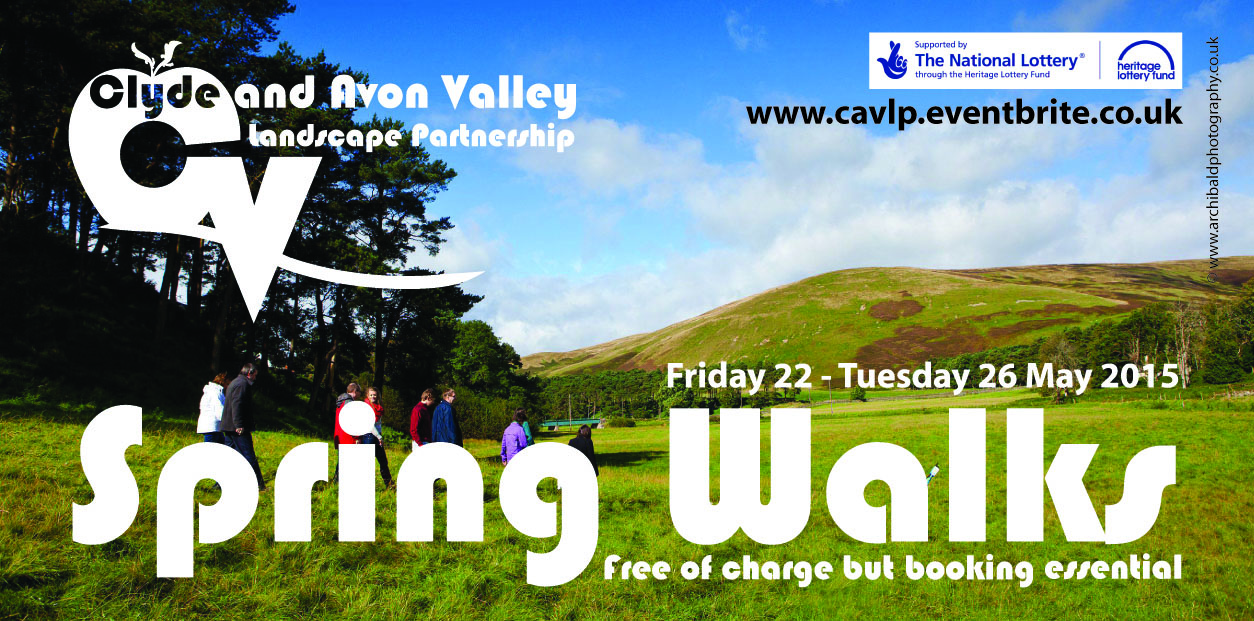 Step Out for Clyde and Avon Valleys Spring Walks Festival 2015