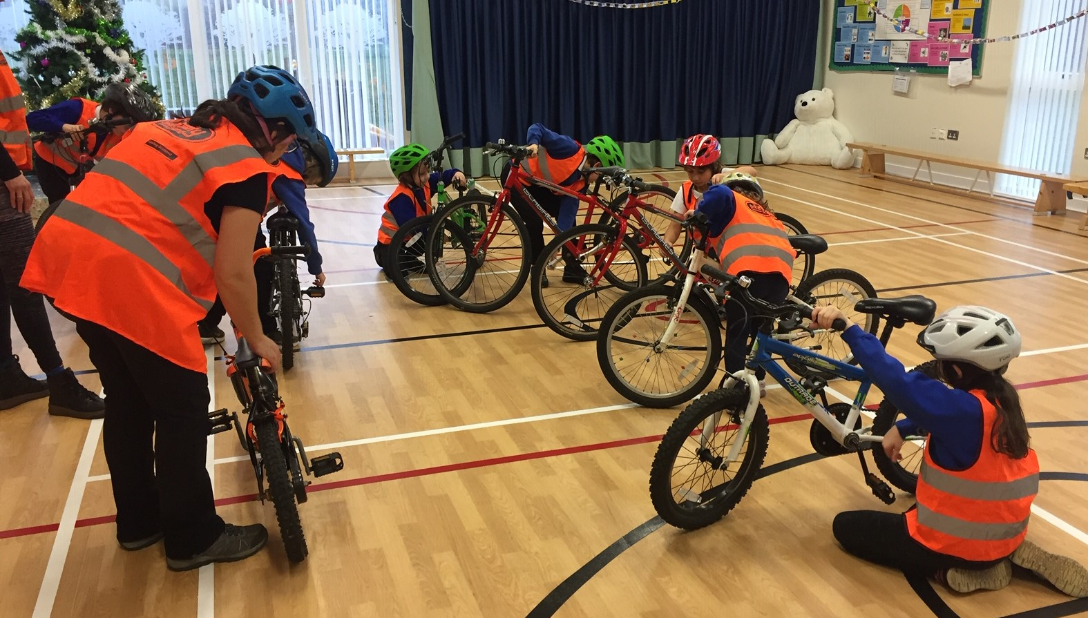 Schools in rural Clydesdale encouraged to get on their bikes!