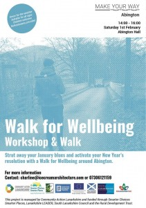 Walk for Wellbeing - Abington Hall