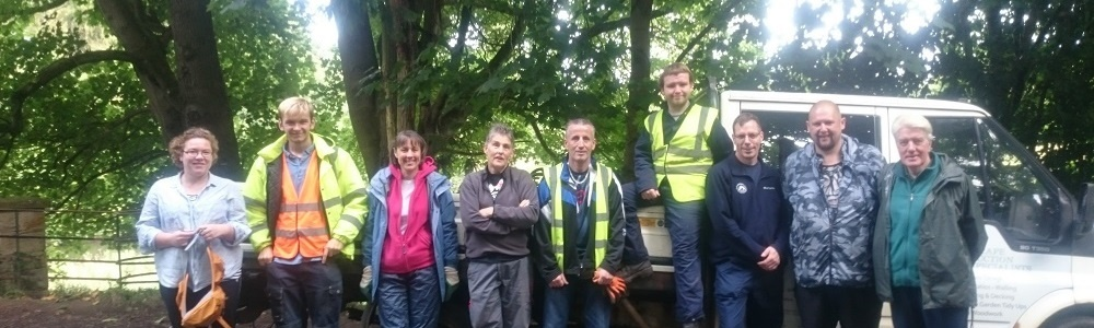 Volunteer in the Clyde and Avon Valley in 2017