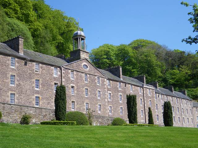 New Lanark One of Top 20 Visitor Attractions in Scotland 2014!