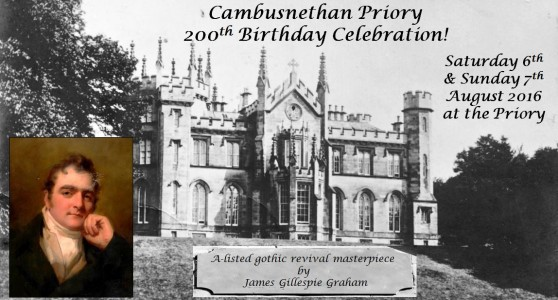 Cambusnethan Priory's 200th Birthday