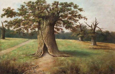 """Boss Oak to Old Mill"" - Local Landscape Heroes Artist Walk at Chatelherault"