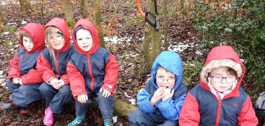 Lanark children enjoy green space cleared through partnership project