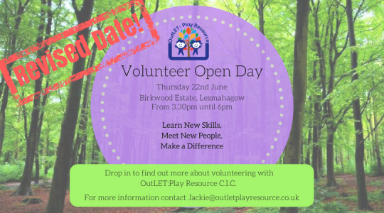 Volunteer Open Event