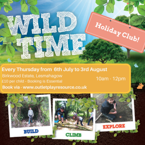 Wild Time Holiday Club - Lesmahagow - Every Thursday