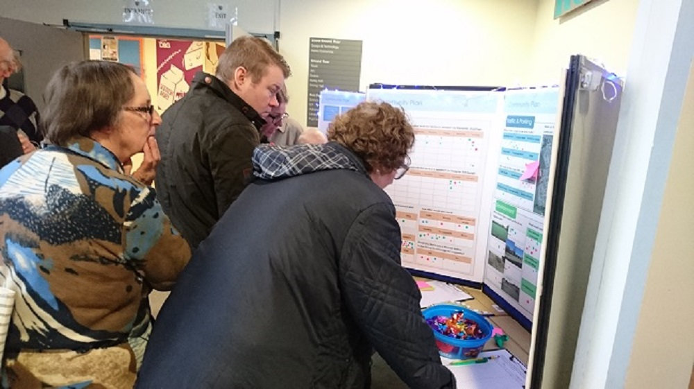 Harthill drop in event wants your views