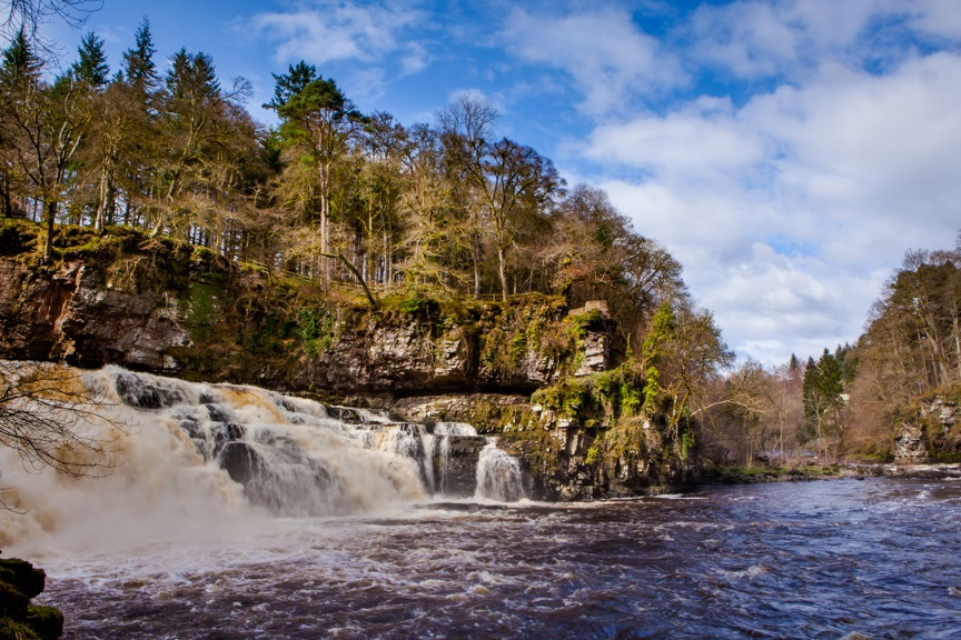 Shaping the Landscape: The Falls of Clyde