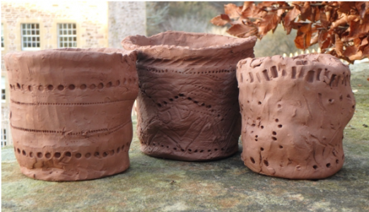 FREE Bronze Age Pottery and Celtic Head Fun